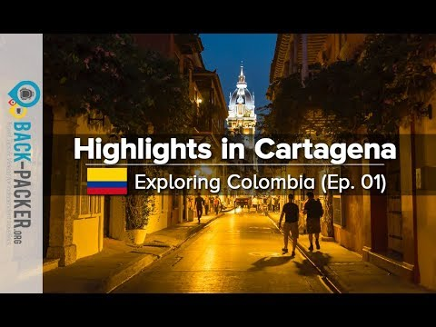 Colonial Architecture & White Beaches - Things to do in Cartagena (Exploring Colombia Ep.01)