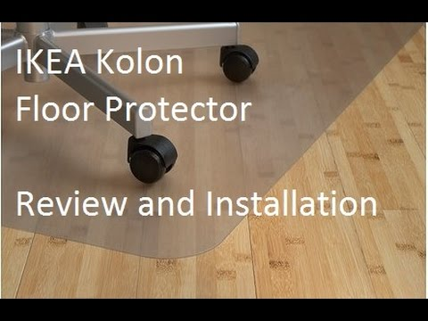 IKEA Kolon Floor protector review and installation YouTube