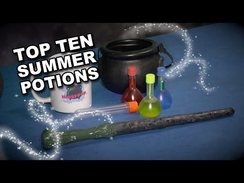 Higgypop's Top 10 Summer Potions 2016