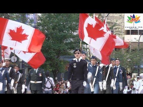 Canada 150 Vancouver Parade Canada Day July 2, 2017