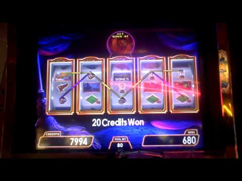 Wizard of Oz  Wicked Witches Bonus Slot Machine Win at Parx Casino