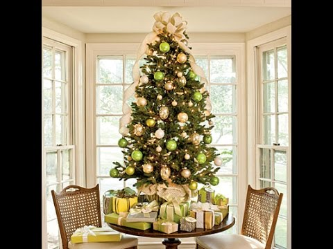 Custom style christmas tree decoration ideas for your for Xmas decoration ideas 2016
