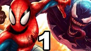 Ultimate Spider Man: Total Mayhem Gameplay Walkthrough Part 1 - Beginning