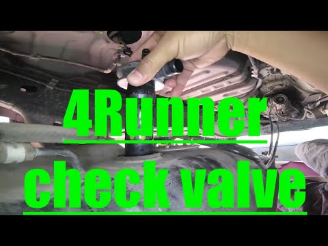 GAS FUMES P0440 P0446 Fuel Check Valve Replacement Toyota 4Runner √ Fix it Angel