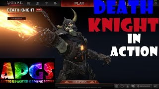 Quake Champions Death Knight in Action