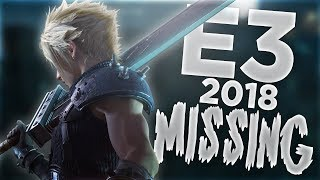 E3 2018; The Missing Games