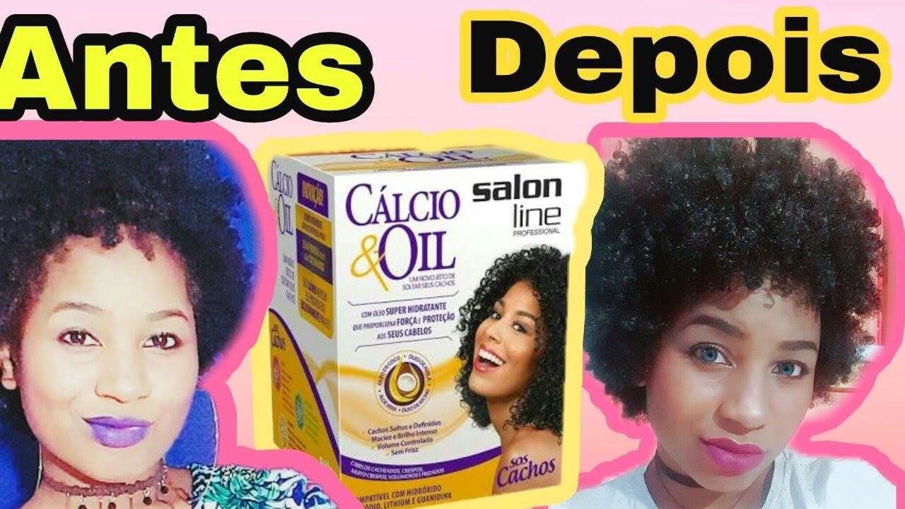 new style beb21 d7431 O QUE O RELAXAMENTO CÁLCIO E OIL DA SALON LINE FEZ COM MEU CABELO 4C  !😞//RESENHA
