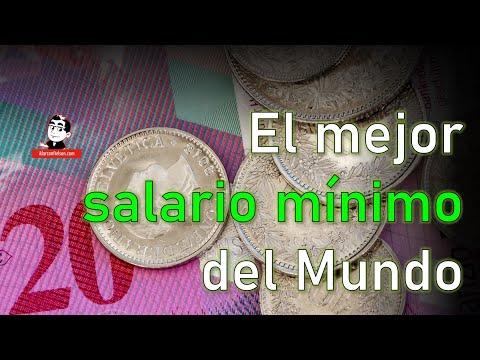 El mejor salario mínimo del Mundo