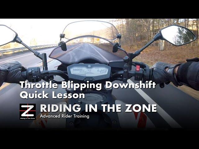 Throttle Blipping Downshift Technique- Quick Lesson