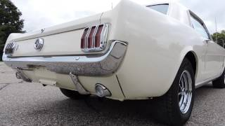 1965 ford mustang white coupe for sale at www coyoteclassics com