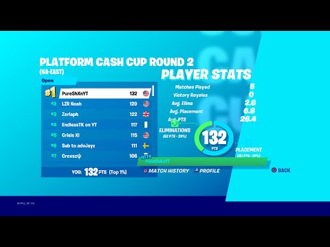How I Won The Solo Platform Cash Cup On Console Round 2 ($2600) + Best Creative/Comp Settings