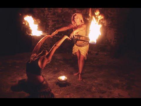 St. Croix Fire Dancers - Goddess Energy Sacred Feminine Rising