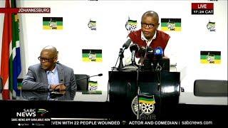 ANC briefs the media, 2 September 2019