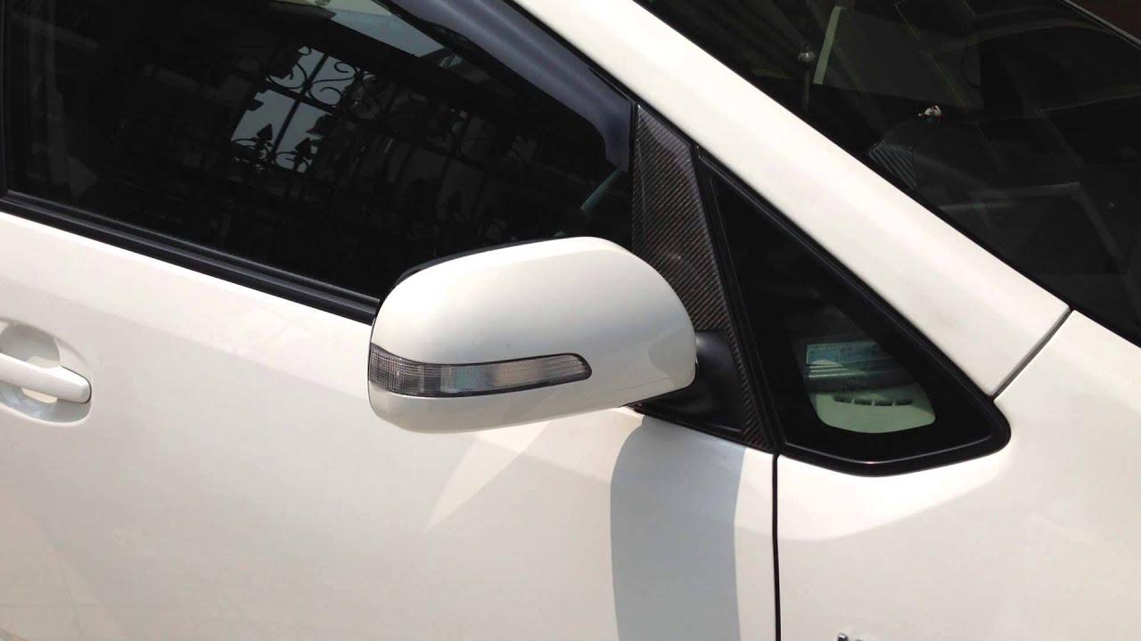 Prius Gen2 Auto Retractable Mirror   YouTube