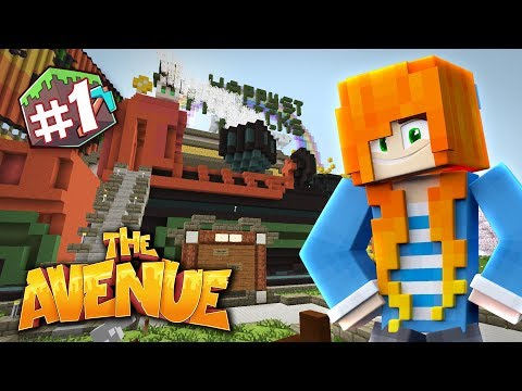 NEW SERIES! | Minecraft: The Avenue SMP | Ep.01