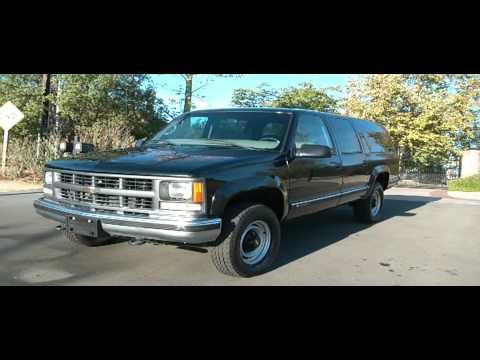 3 4 Ton Suburban >> 1 Owner 1999 Chevrolet Suburban GMC 70,000 Orig Mi 3/4 ton 4x4 $6500 - YouTube