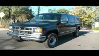 1 Owner 1999 Chevrolet Suburban GMC 70,000 Orig Mi 3/4 ton 4x4 $6500