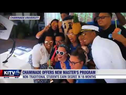 School of Business and Communicaiton New MBA Concementraitons on KITV