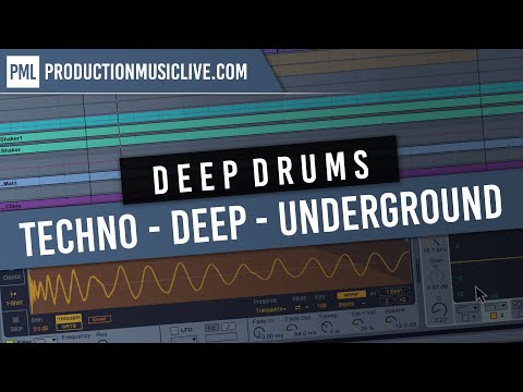 Drum Programming Session - Berlin Deep Melodic Techno Ableton 4K