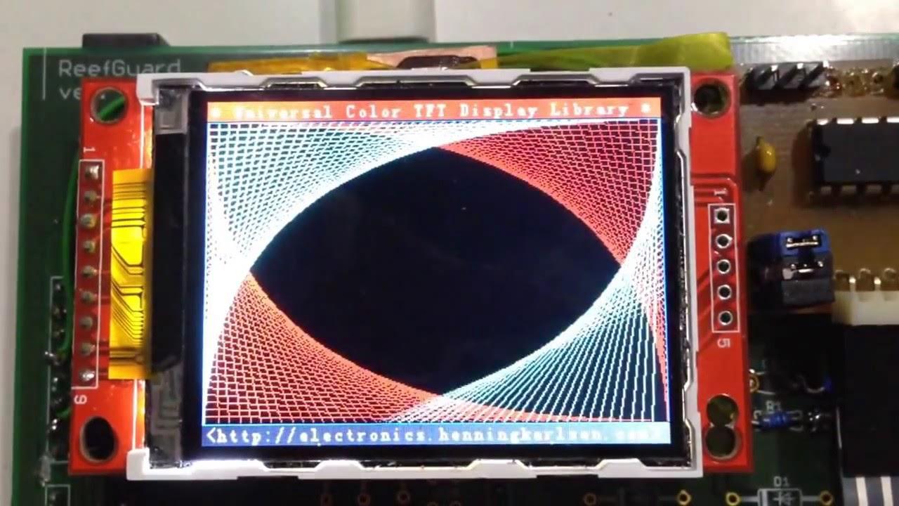 Arduino m zero and serial tft ili youtube