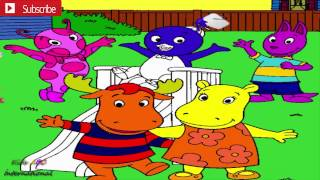The Backyardigans ; Uniqua , Austin , Tasha , Tyrone funny Coloring with kids song
