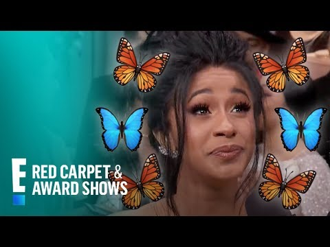 Cardi B Has Butterflies in Her Stomach & Where?! | E! Live from the Red Carpet