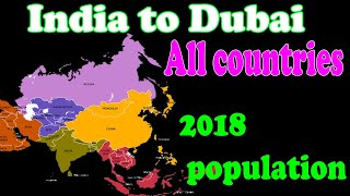 All countries population 2018 survey list