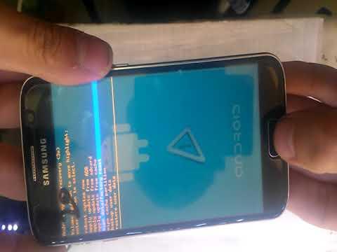 Hard Reset China Galaxy S7 сброс настройки под оригинал S7