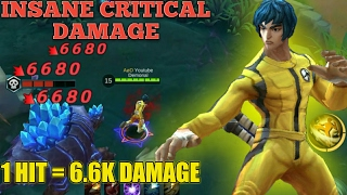 INSANE CRITICAL DAMAGE FROM CHOU | MUST WATCH THIS