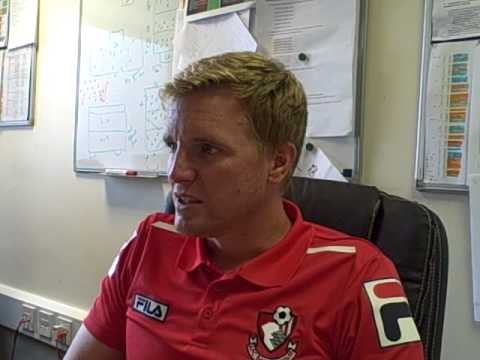 Interview with Eddie Howe