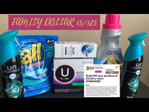 Family Dollar Couponing || Budget Boss Coupons