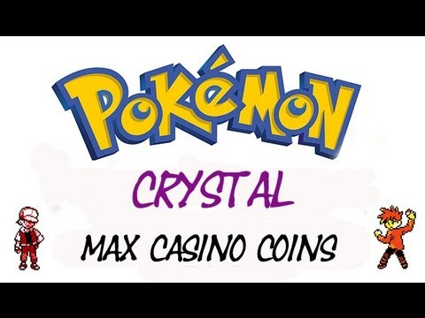 Pokemon Crystal Unlimited Casino Coins Gameshark Codes Youtube