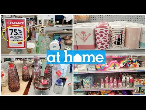Clearance At Home Store 75% off home decor & More walkthrough 2020