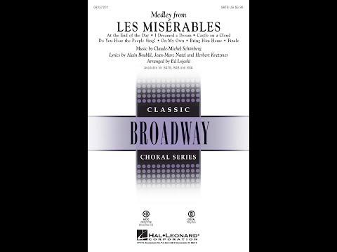 Les Misérables (Medley) (SATB) - Arranged by Ed Lojeski