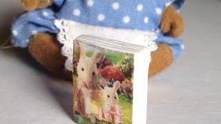 Make A Dollhouse Miniature Book - Diy Crafts - Guidecentral