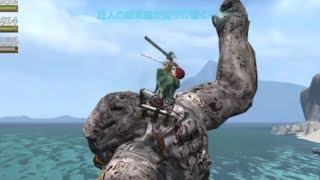 Dragons dogma online - Attack on titan event and new spirit lancer skill showcase
