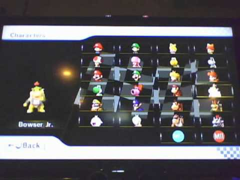 File Blast How To Unlock Characters On Mario Kart Wii Youtube