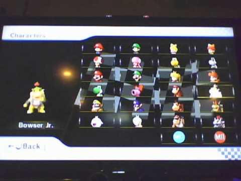 Mario kart wii all characters karts and bikes unlocked youtube - Mario kart wii voiture ...