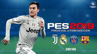PES 2019 Lite 300 MB Android Offline New Transfer Update Best Graphics