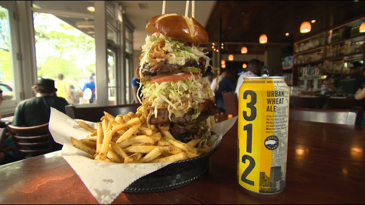Chicago's Best Burger: ROCKS - YouTubePub Food Burgers