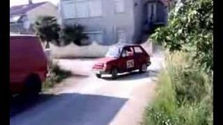 Fiat 126 Bis drifting