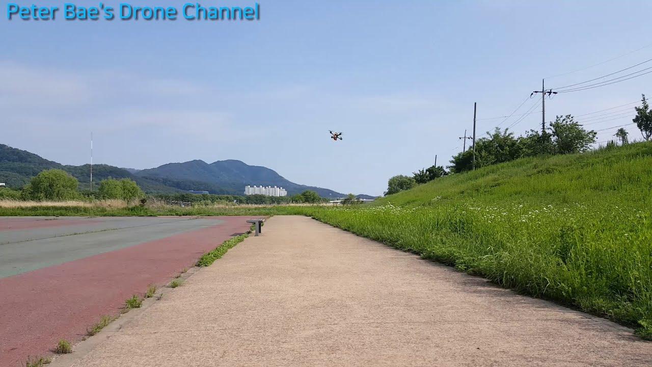 #18 Racing drone acro mode practice 레이싱 드론 아크로 모드 비행연습 фото