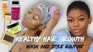 Baixar TWA Wash Day Routine For Fast, Healthy Hair Growth! | EP.1