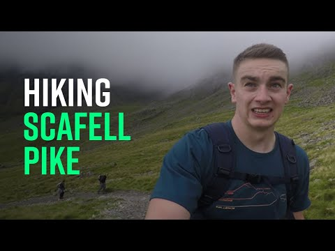 Hiking Scafell Pike from Wasdale Head (Extended)