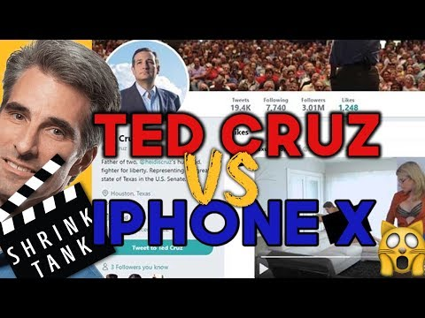TED CRUZ TWITTER VS. iPHONE X FAIL 🙀