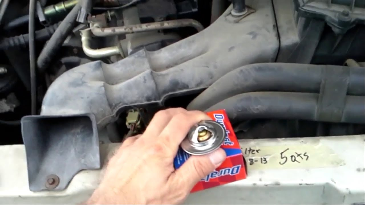 How To Replace A Thermostat In Ford V8 Engines Youtube 1955 F100 Housing Premium