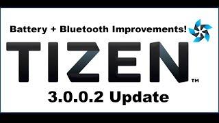 Tizen 3.0.0.2 Update for Samsung Gear S3 - Battery+Bluetooth Enhancements!
