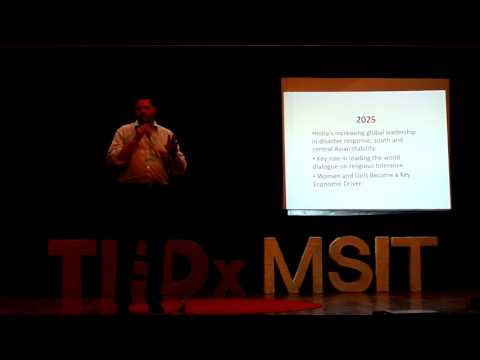 India in 2050, A Superpower | Chad Norberg | TEDxMSIT