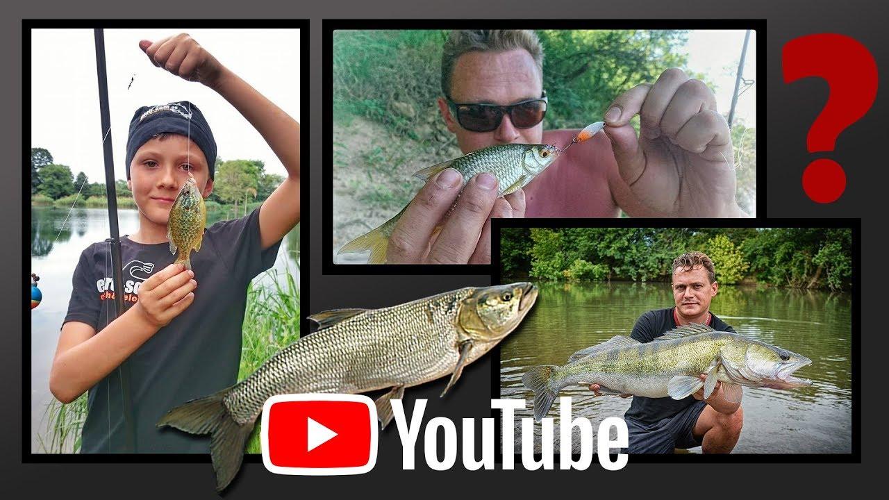 Список каналов про рыбалку