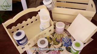 Técnicas fáciles y novedosas para pintar madera